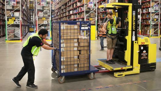 Many US warehouses lack modern upgrades: ceilings are low, flooring is uneven and space is tight.